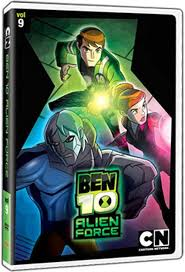ben 10 alien force dvd announcement ben 10 alien force