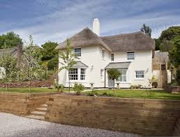 traditional style home devon self build in traditional style thatched interiors