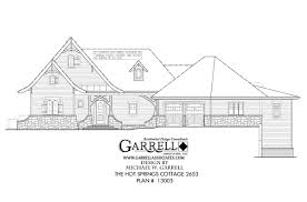 Federal Style Home Plans by Springs Cottage 2653 House Plan House Plans By Garrell