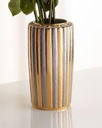 Vase Table L L Objet Voyage D Or Large Vase Neiman
