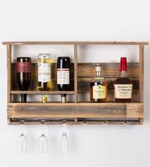 reclaimed barn wood wine rack features reclaimed wood del