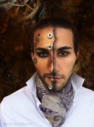 Halloween Makeup Beard by Steampunk Hero Makeup Tutorial How To Create A Face Painting