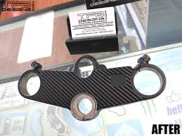 honda cbr 600 f2 carbon fiber triple clamp decal 91 94 honda cbr 600 f2 cbr600