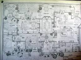 spanish colonial architecture floor plans main level plan all
