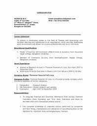 resume of financial analyst resume for financial analyst new 2017 resume format and cv