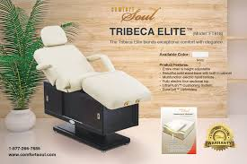 comfort soul massage table marketing print collateral jaeonedesigns