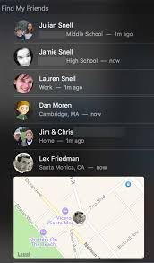 www find friends school find my friends comes to el capitan six colors