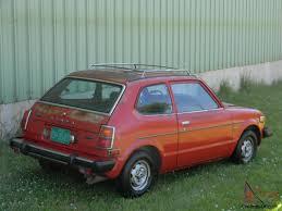 Civic 1980 Honda Civic Little Red All Original