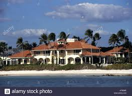 palm beach boat yacht florida mansion villa estate stock photo