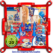 sonic the hedgehog party supplies sonic the hedgehog party supplies kids party store
