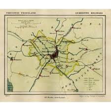 netherlands map cities antique maps prints maps netherlands friesland cities
