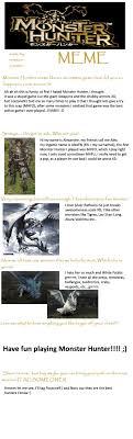 Hunter Meme - monster hunter meme alexfn by alexfn on deviantart