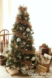 a brown christmas tree 60 best christmas tree decorating ideas how to decorate a