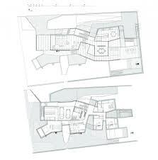 The Burrow Floor Plan by Aeccafe House 1 130 In Madrid Spain By Estudio Entresitio