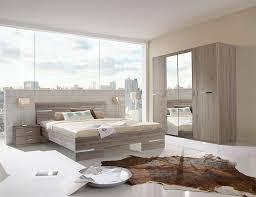 ensemble chambre complete adulte chambre adulte complète contemporaine coloris chêne blanc