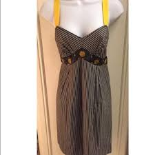 87 off freesia dresses u0026 skirts freesia brand gray white yellow