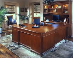 u shaped executive desk u shaped desk with hutch desk set office furniture pinterest
