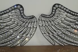 Angels Home Decor by Angel Wings Wall Decor Roselawnlutheran