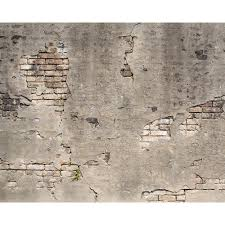 broken concrete wall mural wr50520 the home depot null broken concrete wall mural