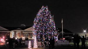 round lake beach christmas tree lighting 2013 youtube