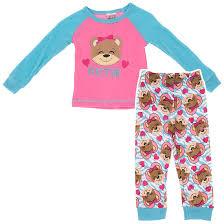 blue cutie pajamas for toddler