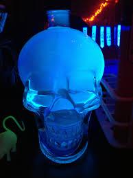 fun halloween tip tonic water glows under a black light