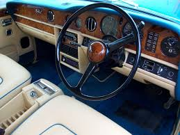 rolls royce blue interior 1981 rolls royce silver shadow mkii for sale