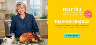 thanksgiving dinner delivered martha marley spoon thanksgiving box my subscription addiction