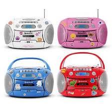 cd player für kinderzimmer kassetten mp3 cd player usb kinder radio boombox stereo anlage