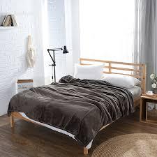 canap molletonn 2018 plaid flanelle couvertures plein reine roi molleton lit couvre