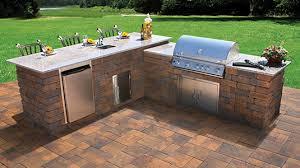 Outdoor Kitchen Supplies - nicolock outdoor living features maurice supplies llc
