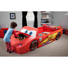 disney cars ferrari kids car bed ebay