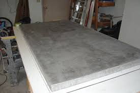 How To Make A Concrete Bench Top Basic Concrete Countertop 13 Steps With Pictures