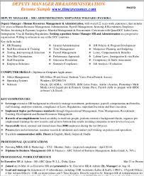 senior hr manager resume sample sample hr manager resume 9 examples in word pdf