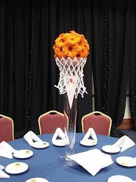 basketball centerpieces basketball party banquet centerpieces basketball party and banquet