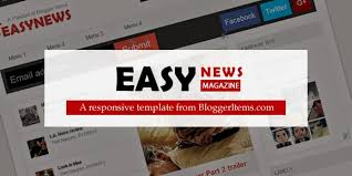 free magazine blogger template easy news u2013 free responsive magazine blogger template