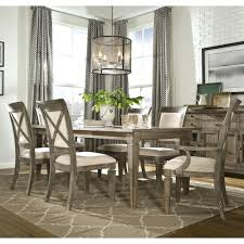 legacy classic brownstone village 7 piece dining set with leg