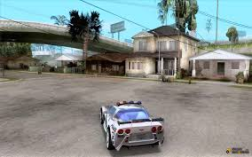 police corvette stingray chevrolet corvette c6 police rough nfs mw for gta san andreas