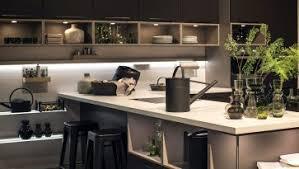 Led Strip Lights Kitchen by Beautiful Led Lighting Black Countertop Backsplash Faucet Sink