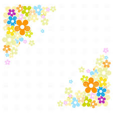 clipart cartoon flowers