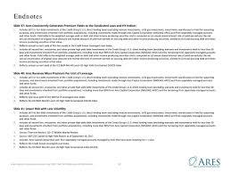 Ares Capital Arcc Investor Presentation Slideshow Ares