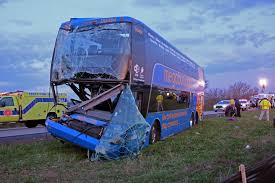Megabus Route Map by Megabus Trip First A Crash Then A Fellow Passenger Arrested