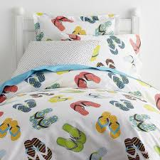 What Is A Duvet Cover And Sham Flip Flop Percale Kids Duvet Cover Company Kids