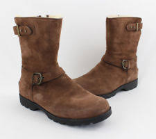 womens ugg grandle boots ugg australia mid calf solid zip boots for ebay