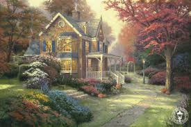 home interiors kinkade prints kinkade signed and numbered limited edition