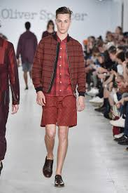 ss17 catwalk show at london collections men oliver spencer