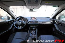 review 2014 mazda3 1 5 v skyactiv carguide ph philippine car