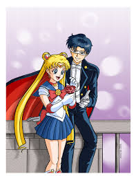 sailor moon and tuxedo mask by redshoulder deviantart com on