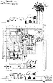 moroccan riad floor plan fouad riad house design drawing ground floor plan section