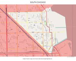 Chicago On Map South Chicago Photos Chicago Photos Images Pictures
